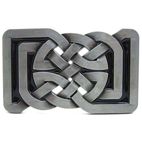 Rectangular Celtic Knot - Keltic Celtic Irish Knot Belt Buckle Rectangular Mens Vintage Legend