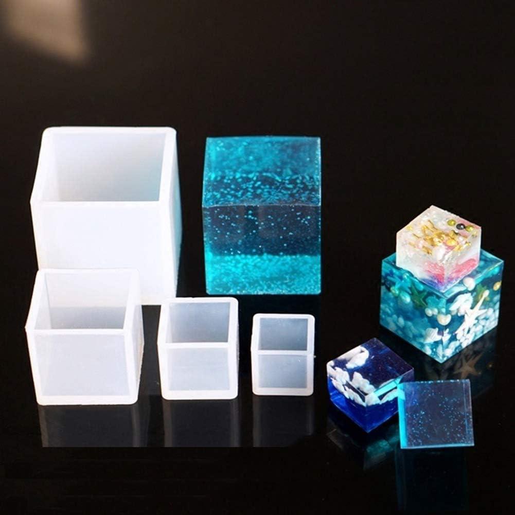 65 mm 20mm 1 couleur. Moule en silicone en forme de cube