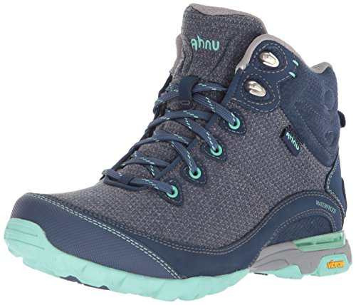 Ahnu Women's W Sugarpine II Waterproof Hiking Boot, Insignia Blue, 8.5 Medium US by Ahnu