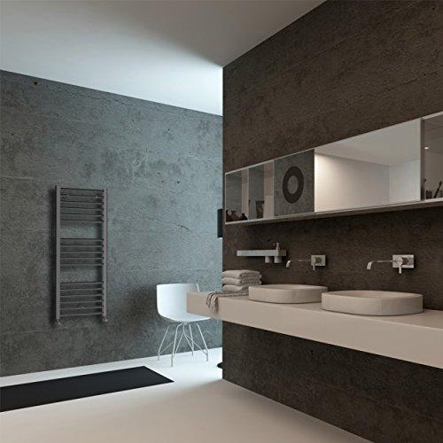 color gris Home Standard/® 500 x 1200 mm Toallero radiador