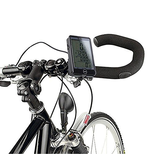 multi 29 function bike accessories led backlight display. Black Bedroom Furniture Sets. Home Design Ideas