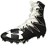 Under Armour Men's Highlight MC Football Cleats (10, Black/White)