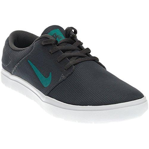 Nike SB Portmore Ultralight Mesh Black/White/Black Men's Skate Shoes