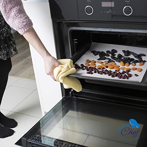 "Food Sheets - 9 Premium 14"" Teflon Dehydrators For Excalibur 2500 2900 or 3900 Dehidrator Sheet By Chuzy Chef"