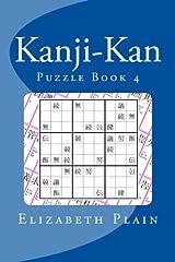 Kanji-Kan: Puzzle Book 4 Paperback