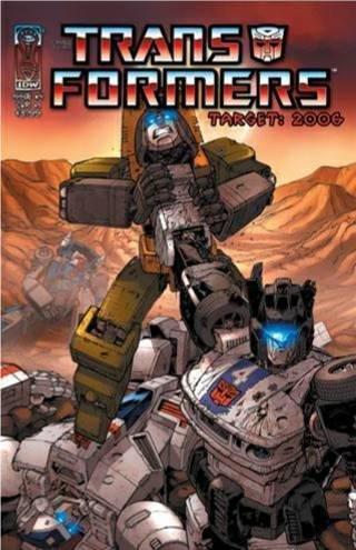 Transformers Target 2006 #4 : Trios (IDW Publishing)