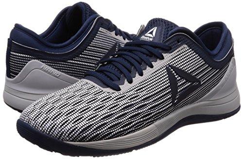 Stark De Hommes Crossfit Marine 8 Pour Reebok Nano 0 Chaussures Gris Blanc Bleu blanc Fitness 0 gq6RRa