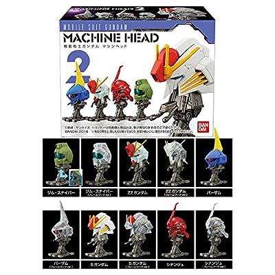 Bandai MS Gundam: Machine Head 2 (Box of 10) Plastic Model Kit Hobby: Toys & Games