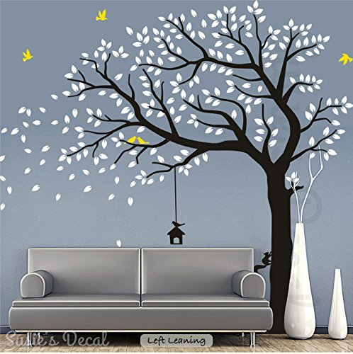 "Large Tree Sticker Peel and Stick Wall Decal (67"" x 80"" (LxH)) 