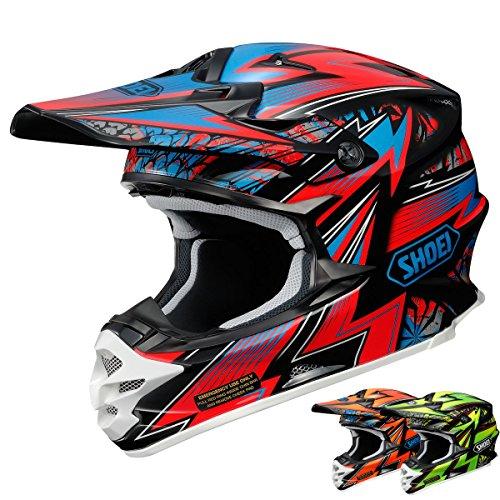 Large MC-1 HJC Pop-N-Lock Mens CL-X7 MotoX//Off-Road//Dirt Bike Motorcycle Helmet