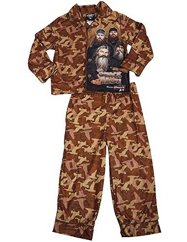 Duck Dynasty Boys Sleeve Pajamas