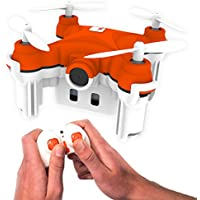 SKEYE Nano 2 Camera Drone with Auto Take-Off and Land - Quadcopter with HD Video Camera - 6 Axis Gyro