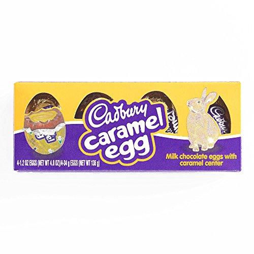 Cadbury Caramel Egg 4 Pack 4.8 oz each (1 Item Per Order, not per case) ()