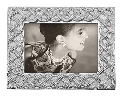 MARIPOSA Open Braid 5X7 Frame, Silver