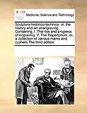 Sculptura Historico-Technic, See Notes Multiple Contributors, 0699168767