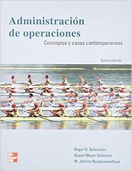 Book ADMINISTRACION DE OPERACIONES: CONCEPTOS Y CASOS CONTEMPORANEOS (5ª ED.)