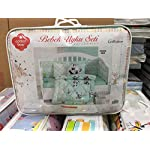 Panda-Deluxe-Crib-Bedding-Baby-Quilt-Set-100-Cotton-6-Pieces-Mint-Made-in-Turkey