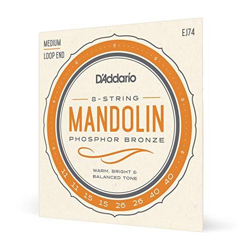 D'Addario EJ74 Phosphor Bronze Mandolin