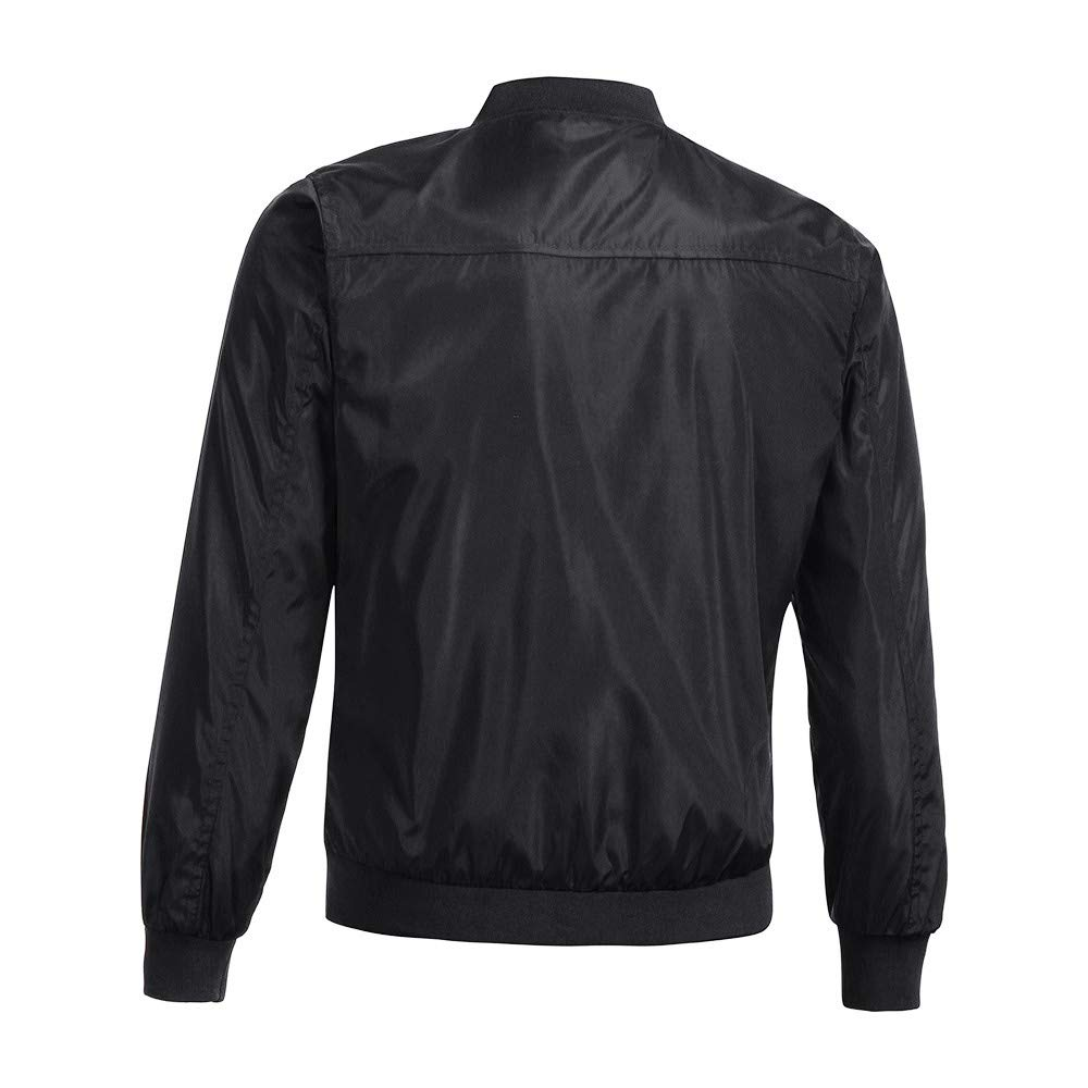 Yesmile ⭐ Chaqueta de Invierno para Hombre Color Suave Abrigo más tamaño Casual Outwear Blusa de Manga Larga Delgada con Cremallera Tops: Amazon.es: Ropa y ...
