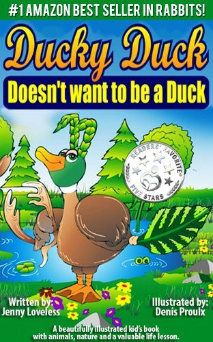amazon com children s book ducky duck doesn t want to be a duck