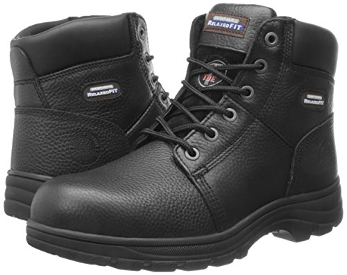 Skechers for Work Men's Workshire Relaxed Fit Work Steel Toe Boot,Black,10.5 W US by Skechers (Image #6)