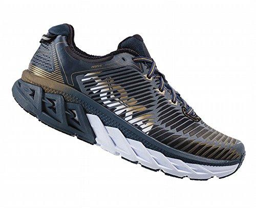 hoka-one-one-mens-arahi-running-shoe-midnight-navy-metallic-gold-95-ee-us