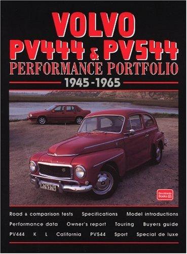 Volvo PV444 & PV544 1945-65 (Performance Portfolio Series) pdf