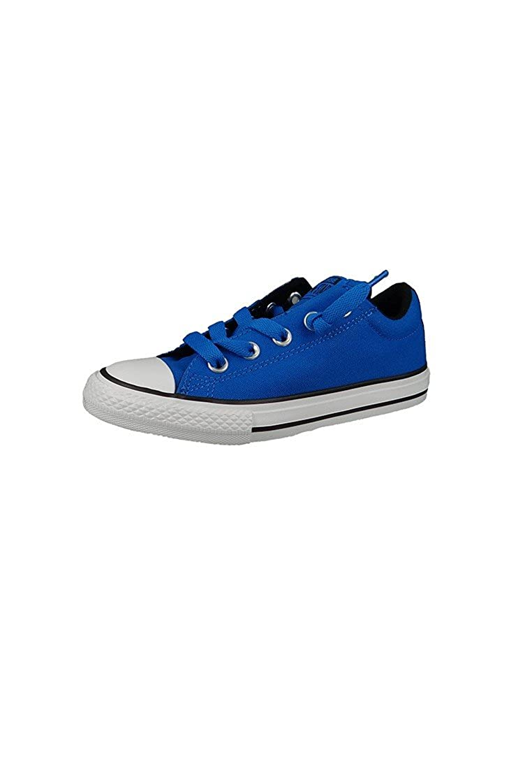 Converse 656010c Ctas Street Slip - Mocasines de lino para niño, color azul, talla 35 EU: Amazon.es: Zapatos y complementos