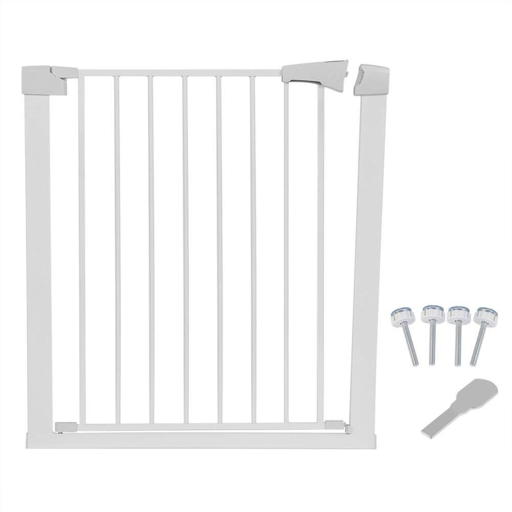 Barrera Escalera Bebe Puerta Seguridad Bebe y Mascota Barrera de Seguridad Extensible//Retr/áctil para Puertas y Escaleras cming Retr/áctil Puerta Enrollable Bebe