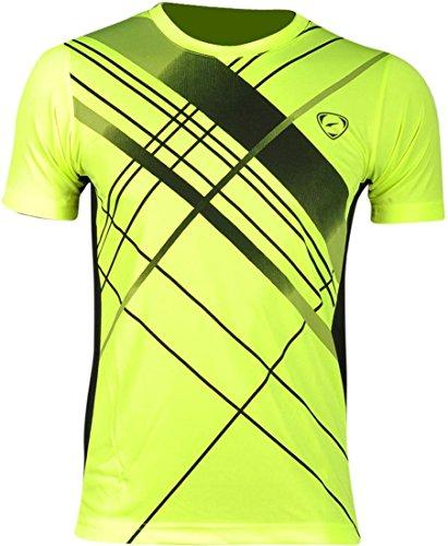 Camisa JeanSian GreenYellow LSL133a de Mangas Cortas con Secado Rapido