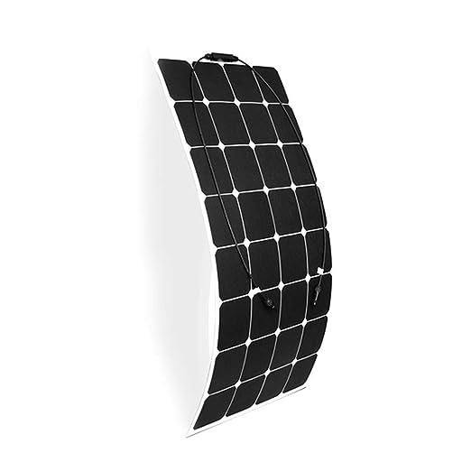Coche Solar Cargador De Batería, 100W Impermeable Panel ...