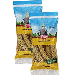 Kaytee 2 Pack Of Natural Millet Spray For Birds 68