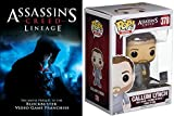 Video Game Set Assassin's Creed Lineage DVD with Funko Pop Callum Lynch #378 2-piece Bundle