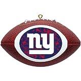 NFL New York Giants Mini Replica Football Ornament