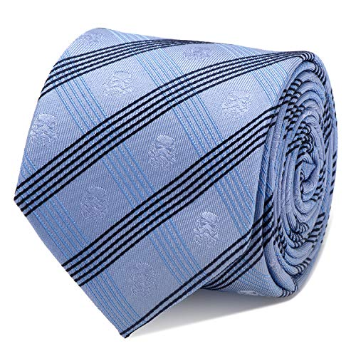 Star Wars Stormtrooper Blue Plaid Tie, Officially Licensed