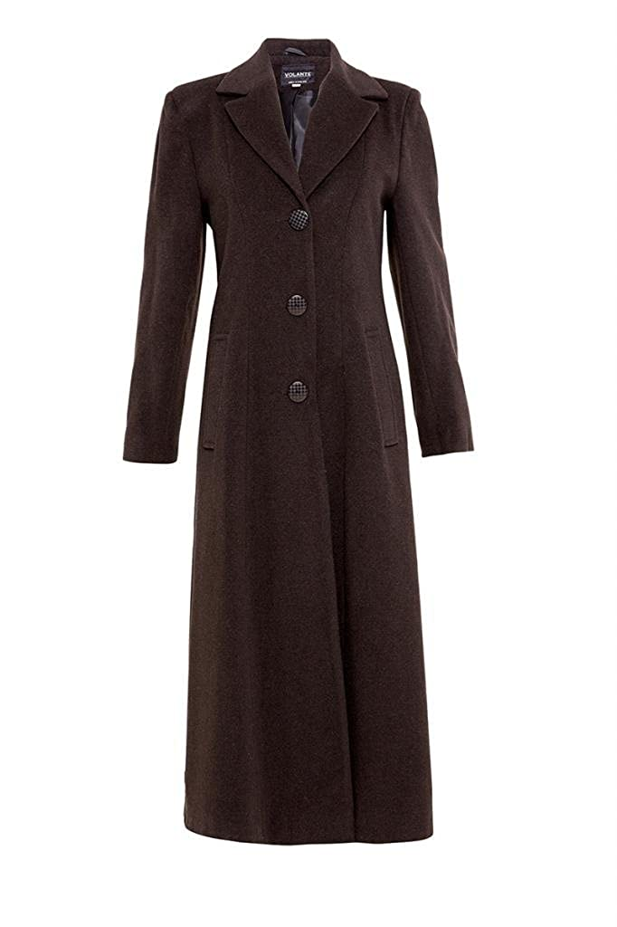De La CrÌme Womens Long Smart Coat wool-outerwear-coats