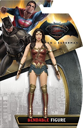 Batman v Superman, Wonder Woman Bendable Action Figure by DC Comics
