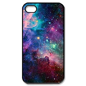 Galaxy Space Universe Use Your Own Image Phone Case for Iphone 4,4S,customized case cover ygtg553237