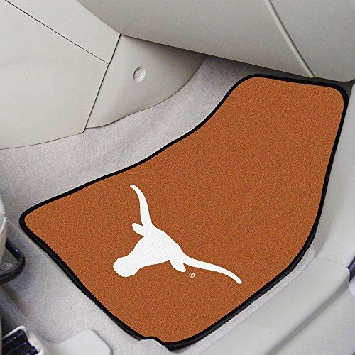 (FANMATS NCAA University of Texas Longhorns Nylon Face Carpet Car Mat)
