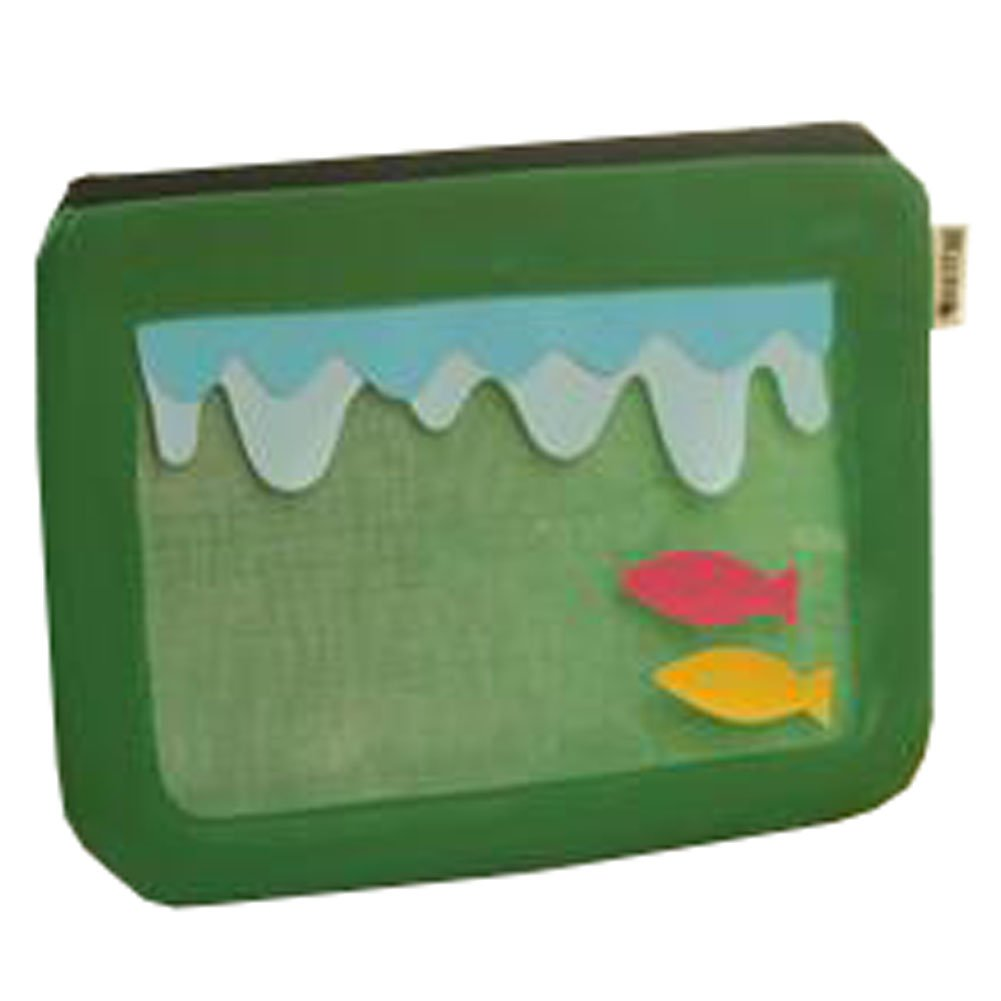 Cute File Bag Stationery Bag Pouch File Envelope for Office/School Supplies, Ocean G