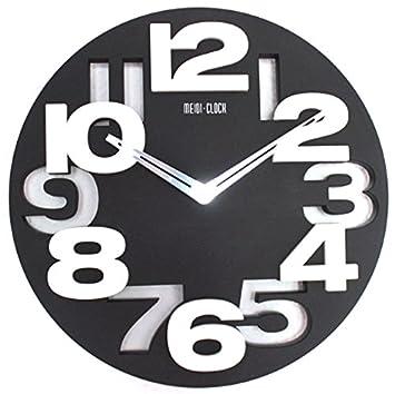 Horloge Murale Design Moderne De Cuisine Salle De Bain Bureau Noir