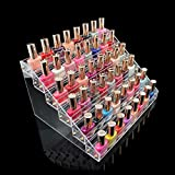 1-Set Pleasure Popular Hots Nail Polish Organizer Cube Box Acrylic Gift Travel Case Color Transparent 6 Tier Style #09