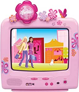 """Barbie Bloom Tube BAR322 13"""" TV with Digtal Tuner"""