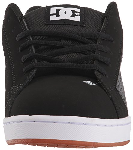 Mens DC Net SE Skate Shoe, Heather Black, 13 D D US