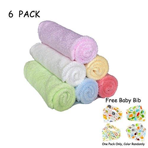Theshine Baby Washcloths baby towel Wipes Bamboo