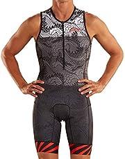 Zoot Mannen Triathlon Racesuit Stijl Tokyo 2019 Zonder Mouwen, Reflecterende Elementen, SPF 50+, Twee Achterzakken en 15cm Front Rits Size