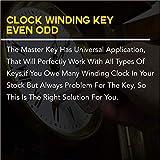 Brass Blessing : Clock Winding Key - Brass