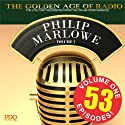 Adventures of Philip Marlowe Vol 1 Radio/TV Program by  PDQ Audiobooks Narrated by Gerald Mohr Van Heflin