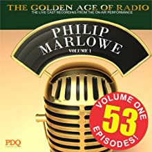 Adventures of Philip Marlowe Vol 1 Radio/TV Program by PDQ Audiobooks Narrated by Gerald Mohr Van Heflin