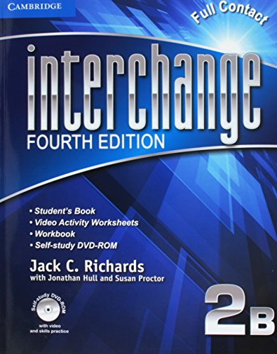 Interchange Level 2 Super Value Pack Full Contact B with Self-Study DVD-ROM and Online Workbook B